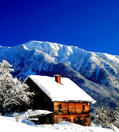 Winter in Austria, Bad-Goisern