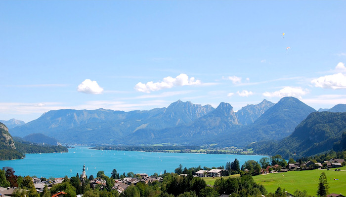 Wolfgangsee - Summer and winter vacation paradise